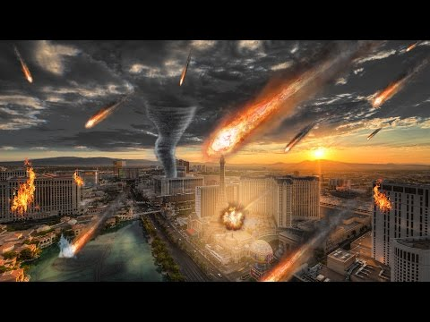 Cities: Skylines - LAS VEGAS CITY DESTROYED BY NATURAL DISASTERS!