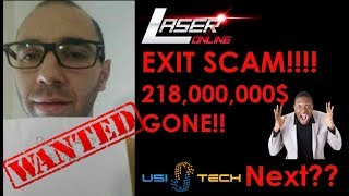 Laser.online exit scam $218,000,000 ☠️☠️☠️ | USI-tech is NEXT ???