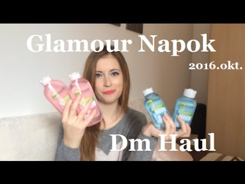 Glamour napok 2016.október - Dm Haul | Pretty Happiness