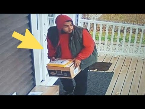 NASA Engineer Fed Up With Package Thieves Builds Device To Bring Them To Justice