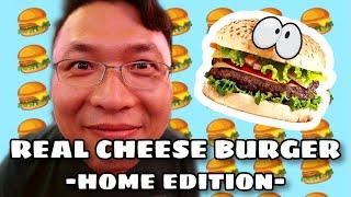 How to make a REAL Cheese Burger - HOME EDITION! 집에서 만드는 미국의 진짜배기 치즈버거!