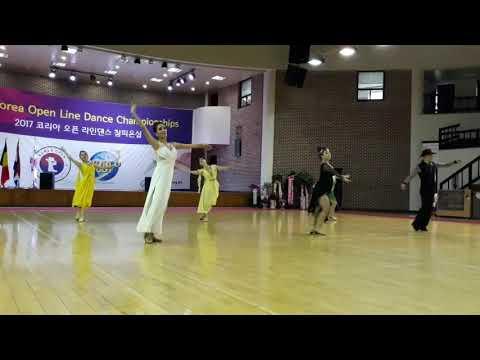 2017 Korea Open Line Dance Championships(Intermediate Silver Smooth)
