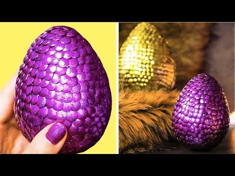 25 AWESOMELY COOL DECOR IDEAS || DIY DRAGON EGGS