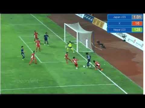 Nepal Vs Japan  1-0 Asian  Game 2018