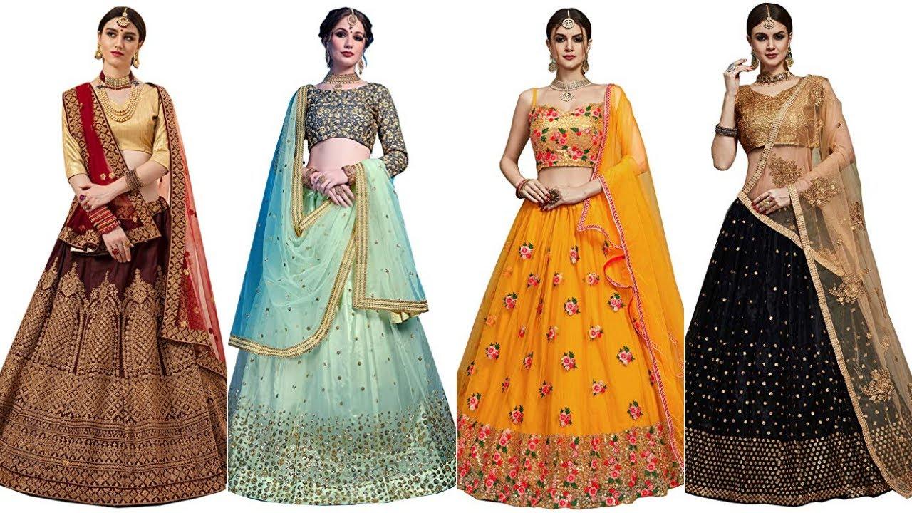 Designer Lehenga Choli Dress 2020 | Top 20 latest Lehenga Choli