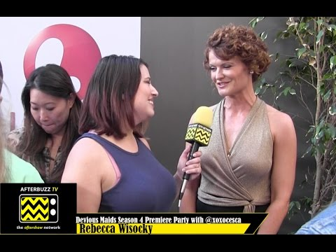Rebecca Wisocky  @ the Devious Maids Season 4 Premier Party
