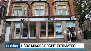 HSBC Faces Revenue Challenges From U.K., Hong Kong