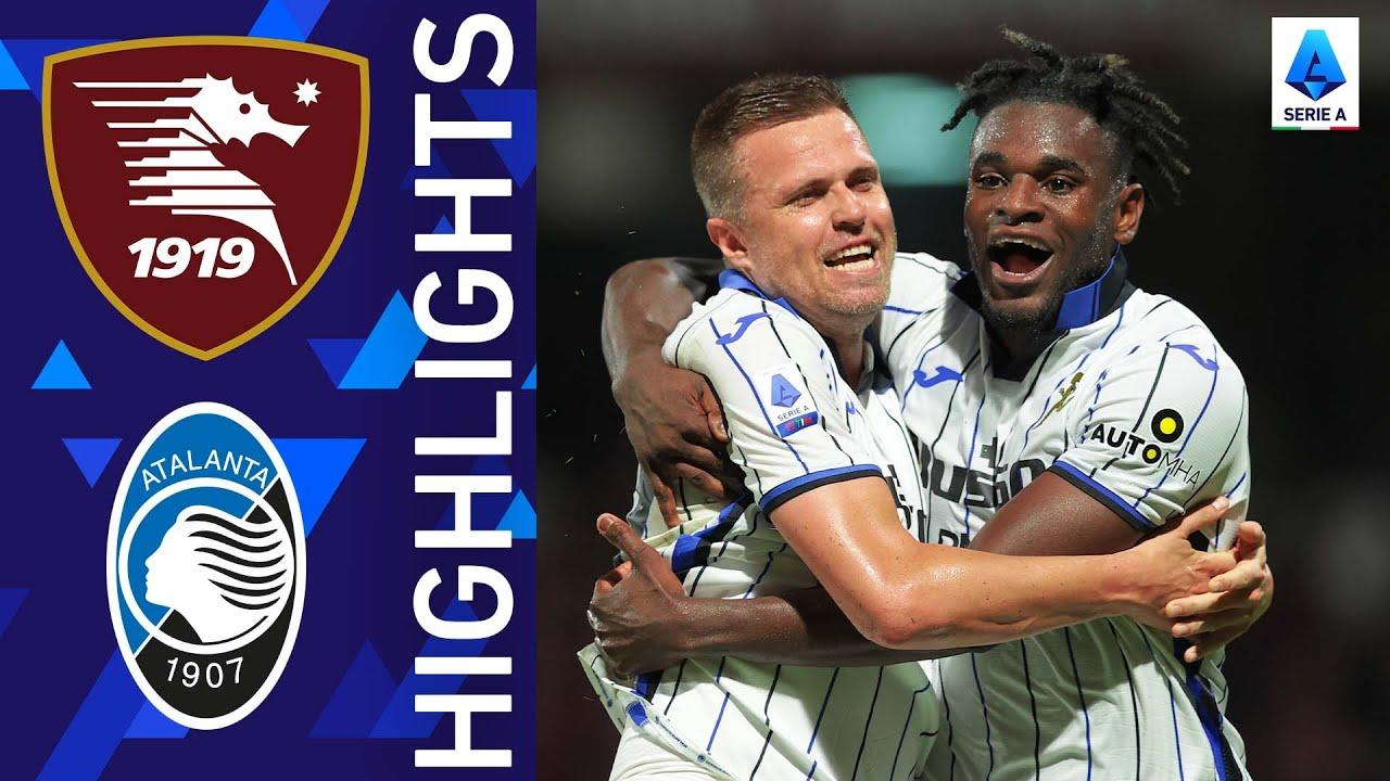 Download Salernitana 0-1 Atalanta   Zapata secures the win for Atalanta   Serie A 2021/22