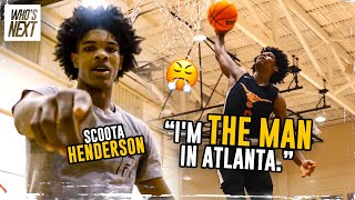 """Imma Be THAT GUY In The NBA!"" Scoot Henderson Hangs With Collin Sexton & Has His Own FILM ROOM 😱"