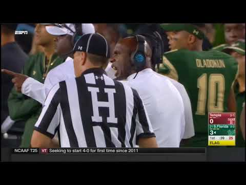 2017 - Temple Owls at South Florida Bulls in 30 Minutes