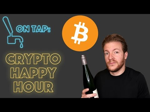 Crypto Happy Hour - Bitcoin and Alts Down