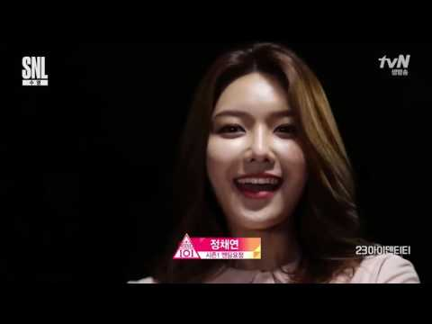 170325 [SNL9] Sooyoung produce 101 parody