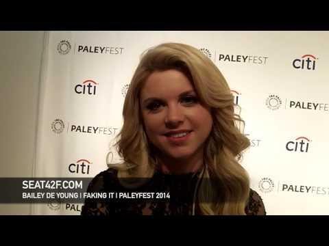 Bailey De Young  Faking It PaleyFest 2014