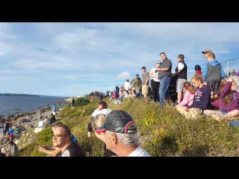 Canadian Snowbirds Air Show (Video 2) Conception Bay South (CBS), Newfoundland August 23, 2016