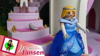 Cinderella Playmobil Film  Familie Jansen / Kinderfilm / Kinderserie/Youtube Kids