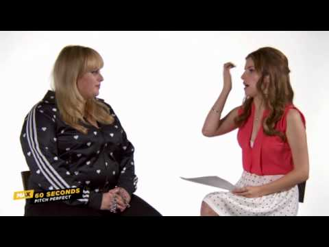 MAX 60 Seconds: Rebel Wilson (PITCH PERFECT)