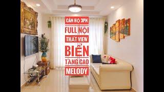 """Bán căn hộ chung cư mẫu 3pn Melody Vũng Tàu gần biển ✅ SHR lâu dài , hoàn thiện full nội thất """"2"""""""