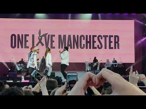 Ariana Grande and Black Eyed Peas - Where Is The Love (One Love Manchester)