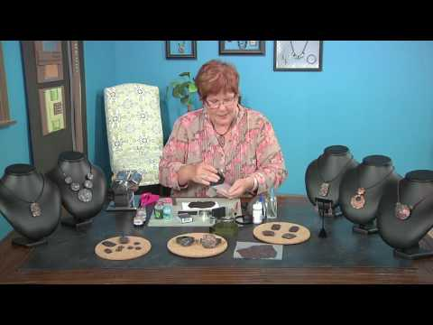 Syndee Holt shows the Asian art of raku with clay & mica powders on Beads, Baubles & Jewels (2502-2)