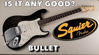 Squier Bullet Stratocaster HSS demo/review - Beginner electric Guitar