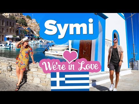 You NEED to Visit SYMI 🇬🇷 Greece's Best Small Island.