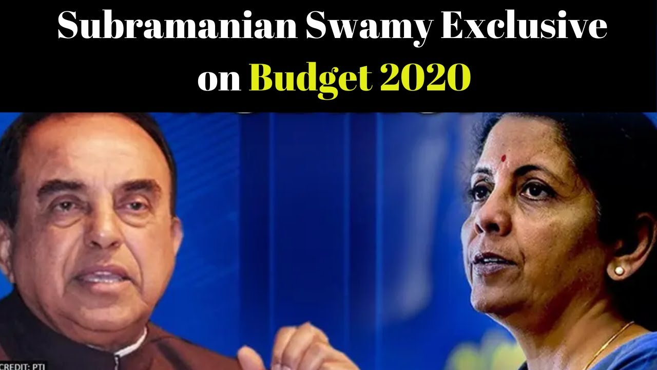 Budget 2020: Subramanian Swamy Exclusive on Budget 2020 | Cover Story | NewsX
