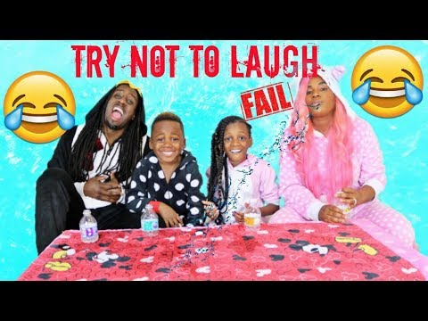 Try Not To Laugh Challenge Family Challenge