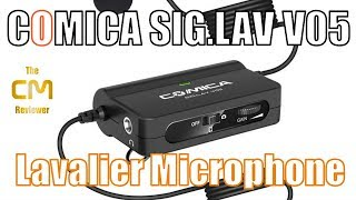 Comica CVM-SIG.LAV V05 Test: Lavalier Microphone with gain control -...