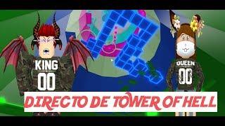 DESCONTROL EN TOWER OF HELL // ROBLOX (22-09-19)