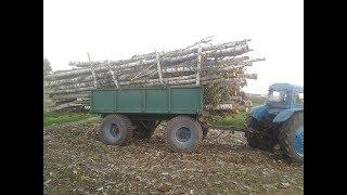 Последствия жестких перегрузок  прицепов дровами