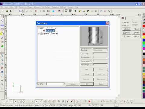 Export Gcode for CNC Machine from JDPaint SoftWare.