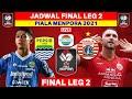 Jadwal Final Piala Menpora 2021 LEG 2 - Persib vs Persija - Live Indosiar