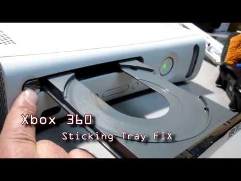 Xbox 360 stuck disc tray FIX