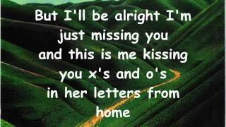 Letters From Home- John Michael Montgomery [ with Lyrics ]