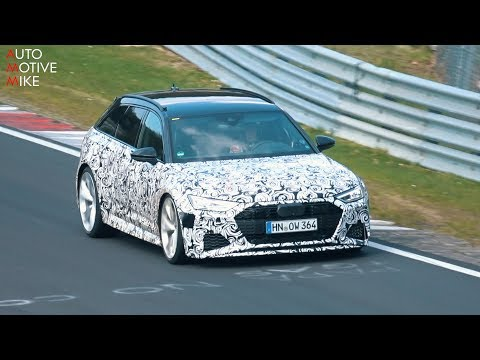 2020 AUDI RS6 C8 SPIED TESTING AT THE NÜRBURGRING