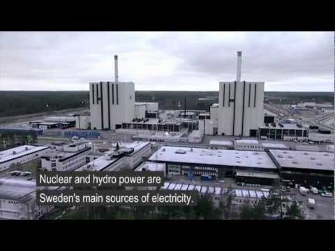 Guided tour at Forsmark nuclear power plant