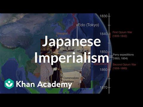 Japanese Imperialism   World History   Khan Academy