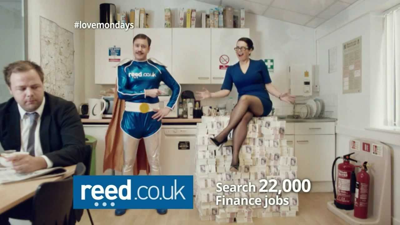 Revealed All New 2014 Reed Co Uk Tv Ads Reed Co Uk