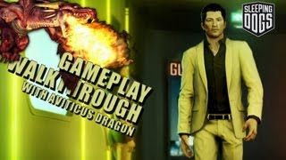 Sleeping Dogs - Gameplay - Part 4 - Stick Up and Delivery and Mini Bus Racket!