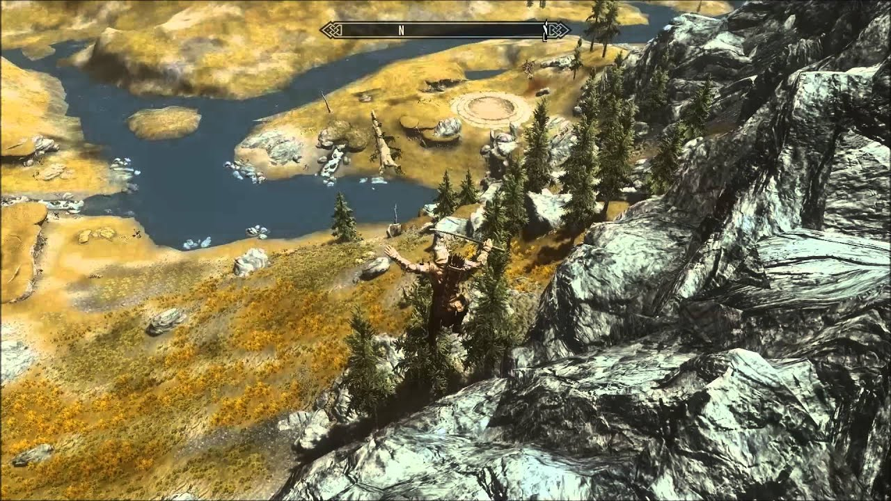 Skyrim flickering foliage, shadows and mountains  AMD HD 7970