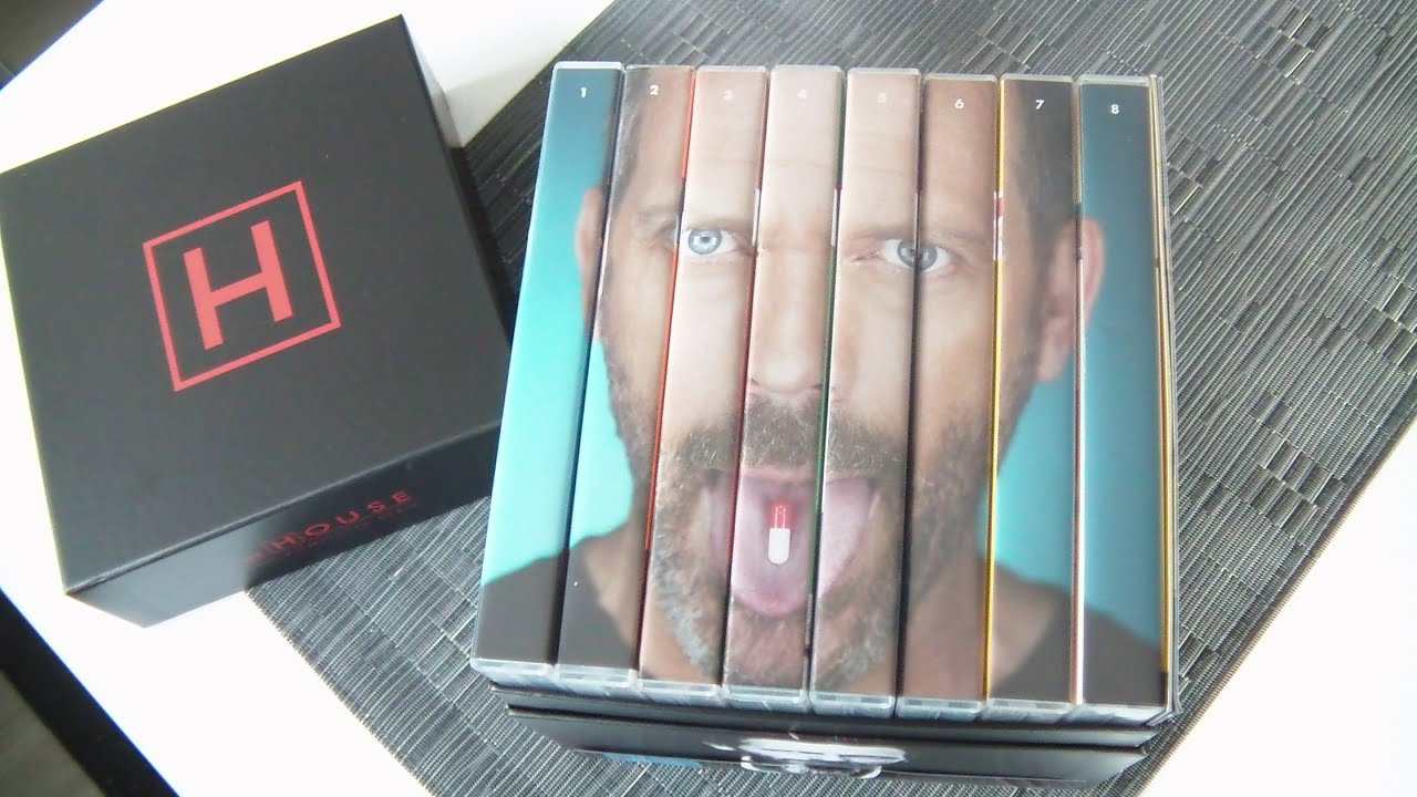 dr house dvd komplettbox unboxing review season 1 8 youtube. Black Bedroom Furniture Sets. Home Design Ideas