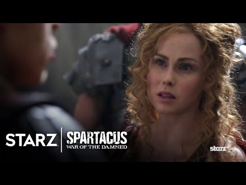Spartacus: War of the Damned | Episode 6 Clip: She Stands Roman | STARZ