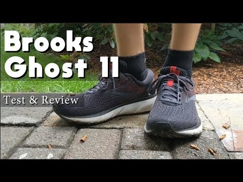 Brooks Ghost 11 test & review A do-it-all running shoe