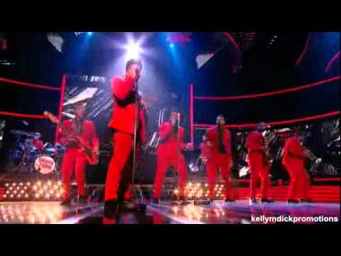 Bruno Mars - The X Factor UK - Guest Appearance