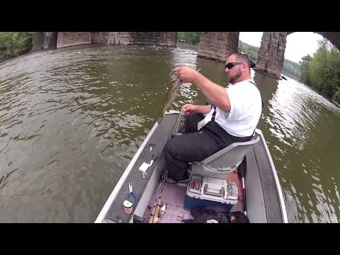 SmallMouth Action On The Juniata River!