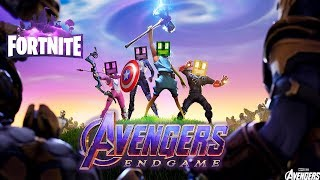 Mit den AVENGERS THANOS BESIEGEN?! - Fortnite Avengers Endgame [Deutsch/HD]