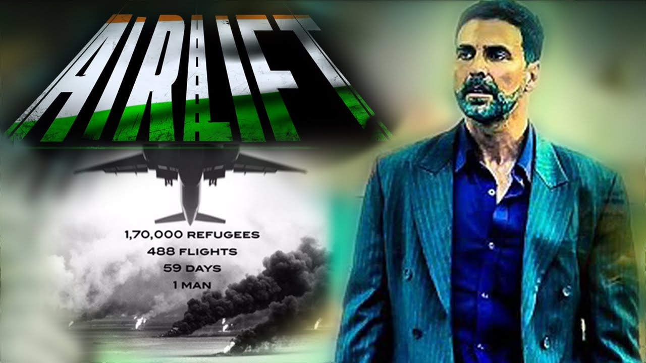 Airlift 2016 Hindi Full Movie Download DVDRip 800MB