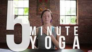 5 Minute Yoga at Your Desk: Easy Breathing Exercises