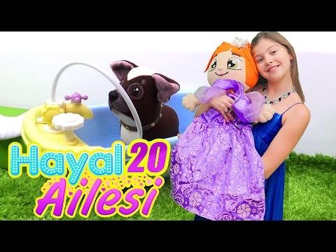 Hayal Ailesi 20 – çocuk dizisi türkçe. Polen'le ev işleri oyunu/ Adrian İtalya'da. Aile oyunu