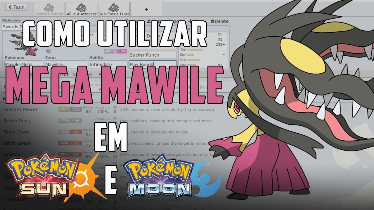 how to catch mawile in sun and moon